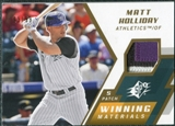 2009 Upper Deck SPx Winning Materials Patch #WMMH Matt Holliday /99