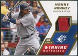 2009 Upper Deck SPx Winning Materials Patch #WMRA Manny Ramirez /99