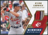 2009 Upper Deck SPx Winning Materials Patch #WMRL Ryan Ludwick /99