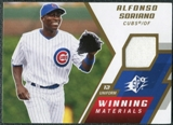 2009 Upper Deck SPx Winning Materials #WMAS Alfonso Soriano