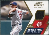 2009 Upper Deck SPx Winning Materials #WMJB Josh Beckett