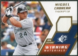2009 Upper Deck SPx Winning Materials #WMMC Miguel Cabrera