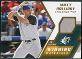 2009 Upper Deck SPx Winning Materials #WMMH Matt Holliday