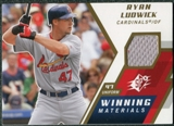 2009 Upper Deck SPx Winning Materials #WMRL Ryan Ludwick
