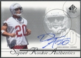 2002 SP Authentic #192 Damien Anderson Rookie Auto #0757/1150
