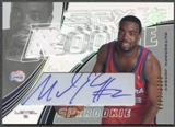 2002/03 SPx #122 Melvin Ely Rookie Jersey Auto #0006/1999