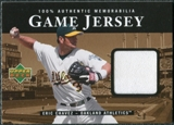 2000 Upper Deck Game Jersey #EC Eric Chavez HR2