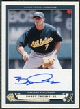 2005 Upper Deck Origins Signatures #BC1 Bobby Crosby T3