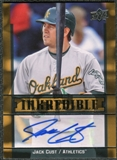 2009 Upper Deck Inkredible #JC Jack Cust Autograph
