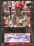 2009 Upper Deck Inkredible #JK Jeff Keppinger Autograph