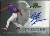 2000 Upper Deck ProSign #JZ Jeff Zimmerman Autograph