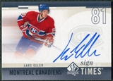 2010/11 Upper Deck SP Authentic Sign of the Times #SOTLE Lars Eller Autograph