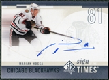 2010/11 Upper Deck SP Authentic Sign of the Times #SOTMH Marian Hossa Autograph