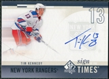 2010/11 Upper Deck SP Authentic Sign of the Times #SOTTK Tim Kennedy Autograph