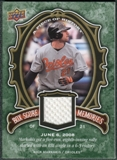 2009 Upper Deck UD A Piece of History Box Score Memories Jersey #BSMNM Nick Markakis