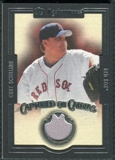 2007 Upper Deck UD Masterpieces Captured on Canvas #SC Curt Schilling