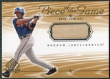 2001 Upper Deck SP Game Bat Edition Piece of the Game #AJ Andruw Jones