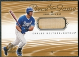 2001 Upper Deck SP Game Bat Edition Piece of the Game #CB Carlos Beltran