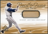 2001 Upper Deck SP Game Bat Edition Piece of the Game #KL Kenny Lofton