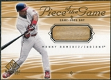 2001 Upper Deck SP Game Bat Edition Piece of the Game #MR Manny Ramirez