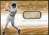 2001 Upper Deck SP Game Bat Edition Piece of the Game #PO Paul O'Neill