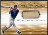 2001 Upper Deck SP Game Bat Edition Piece of the Game #RA Rick Ankiel