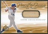 2001 Upper Deck SP Game Bat Edition Piece of the Game #SG Shawn Green