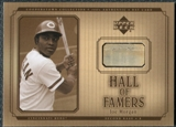 2001 Upper Deck Hall of Famers Game Bat #BJMO Joe Morgan DP