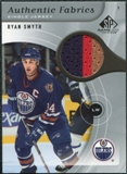 2005/06 Upper Deck SP Game Used Authentic Fabrics #AFRS Ryan Smyth