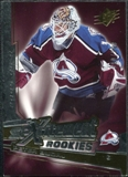 2005/06 Upper Deck SPx Xcitement Rookies #XRPB Peter Budaj /999