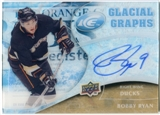 2009/10 Upper Deck Ice Glacial Graphs #GGBR Bobby Ryan Autograph