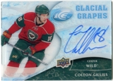 2009/10 Upper Deck Ice Glacial Graphs #GGCG Colton Gillies Autograph