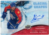 2009/10 Upper Deck Ice Glacial Graphs #GGKM Kenndal McArdle Autograph