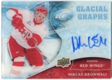 2009/10 Upper Deck Ice Glacial Graphs #GGKR Niklas Kronwall Autograph