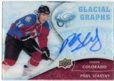 2009/10 Upper Deck Ice Glacial Graphs #GGST Paul Stastny Autograph