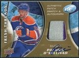 2009/10 Upper Deck Ice Fresh Threads Patches Autographs #FTPO Patrick O'Sullivan Autograph /5