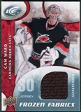 2009/10 Upper Deck Ice Frozen Fabrics #FRCW Cam Ward