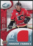 2009/10 Upper Deck Ice Frozen Fabrics #FRJI Jarome Iginla