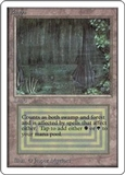 Magic the Gathering Unlimited Single Bayou UNPLAYED (NM/MT)