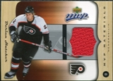 2005/06 Upper Deck MVP Materials #MDH Derian Hatcher