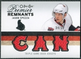 2009/10 Upper Deck OPC Premier Remnants Triples #PRTSP Jason Spezza /35