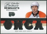 2009/10 Upper Deck OPC Premier Remnants Quad Jerseys #PRQMR Mike Richards /25