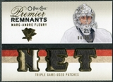 2009/10 Upper Deck OPC Premier Remnants Triples Patches #PRTMF Marc-Andre Fleury /25