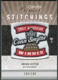 2009/10 Upper Deck OPC Premier Stitchings #PSBL Brian Leetch /199