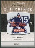 2009/10 Upper Deck OPC Premier Stitchings #PSMM Mark Messier /199
