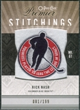 2009/10 Upper Deck OPC Premier Stitchings #PSRN Rick Nash /199