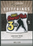 2009/10 Upper Deck OPC Premier Stitchings #PSTO Jonathan Toews /199