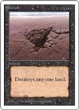 Magic the Gathering Unlimited Single Sinkhole UNPLAYED (NM/MT)