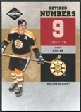 2011/12 Panini Limited Retired Numbers Gold Spotlight #1 Johnny Bucyk 2/25
