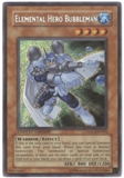 Yu-Gi-Oh Promo Single Elemental Hero Bubbleman Secret Rare EHC1 - NEAR MINT (NM)